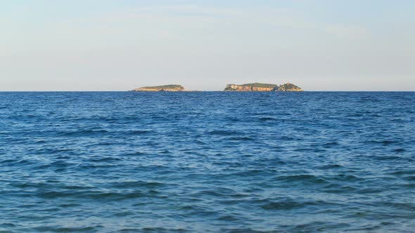 Thumbnail for Diving Area of the Three Islands in Turkey, Region Antalya, Kemer, View From Beach