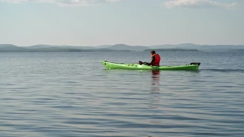 Clearing Mind with Kayaking
