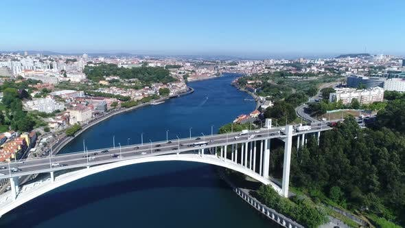 Thumbnail for Beautiful Bridge Landscape From Portugal