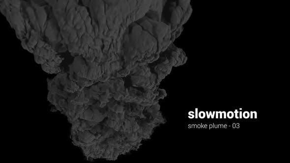 Thumbnail for Slowmotion Smoke Plume - 03