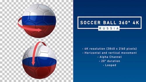 Soccer Ball 360º 4K - Russia