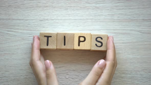 Thumbnail for Tips Word Made by Female Hands, Useful Advices and Helpful Video Lessons, Vlog