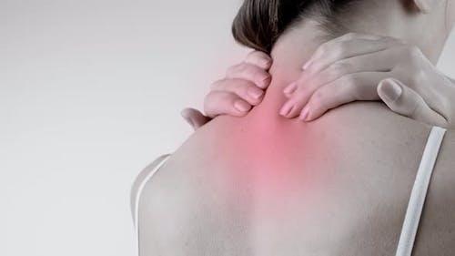 Schmerz im Rücken. Rückenschmerz