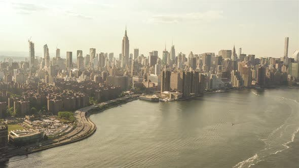 Thumbnail for The East River in New York