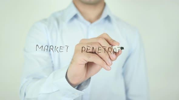 Thumbnail for Market Penetration�, Writing On Screen