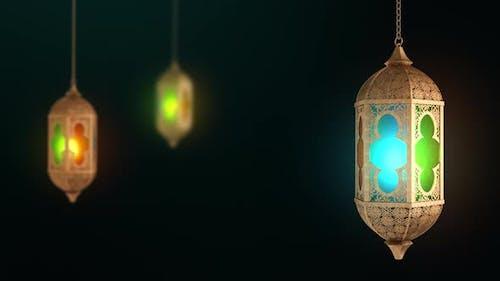 ramadan lantern arabic culture decoration eid mubarak festival ramzan Background