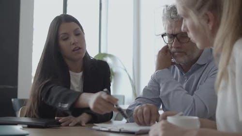 Legal Expert Explaining Document Details