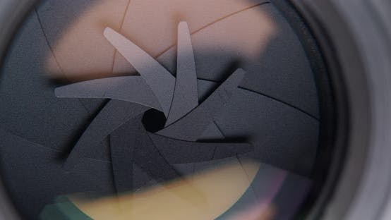 Thumbnail for Einstellen der Blende am Kameraobjektiv