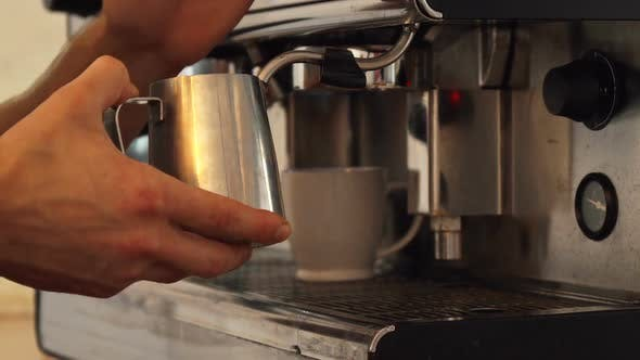 Thumbnail for The Barista Is Making Boiled Milk