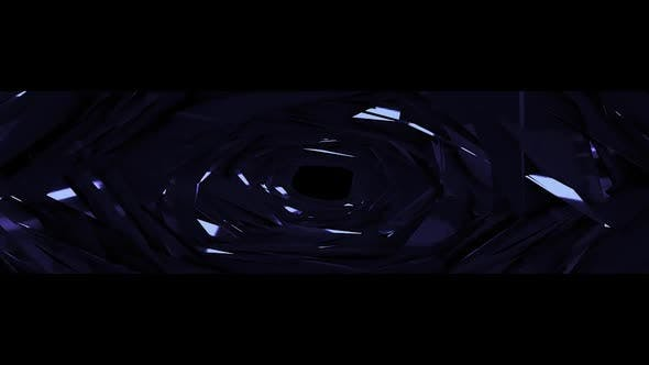 Thumbnail for Blue Tunnel Mirror Background Ultra Wide