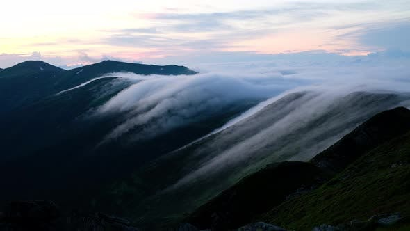 Cover Image for Video Footage Time Lapse of Carpathian Mountains