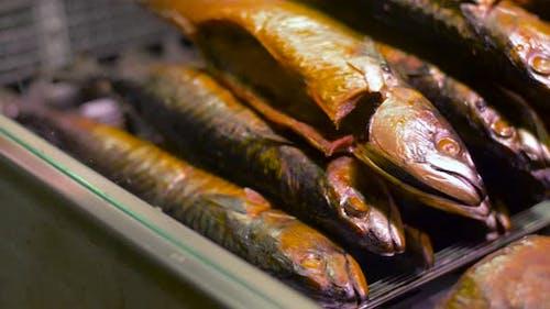 Smoked Fish on Tray