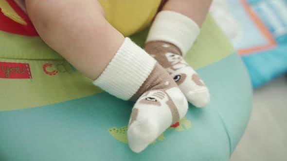 Thumbnail for Baby Feet in Socks