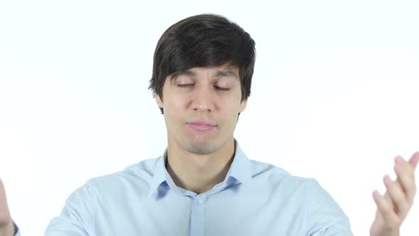 Cover Image for Businessman Reacting To Failure , Stress Concept