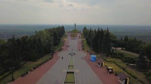 Ufa Salavat Yulaev Square