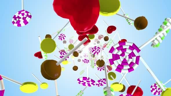 Lollipops Candy 02 4k