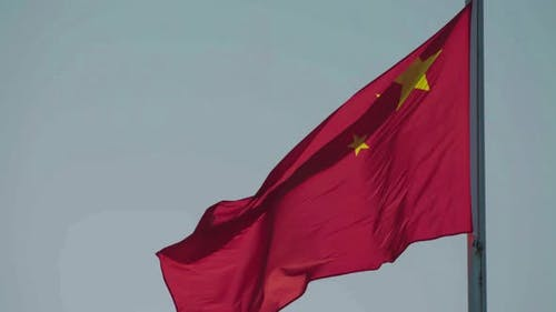 Red Chinese Flag