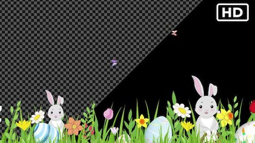 Easter and Spring Background HD