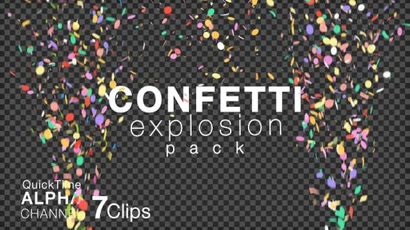 Thumbnail for 4K Celebration Confetti Pack