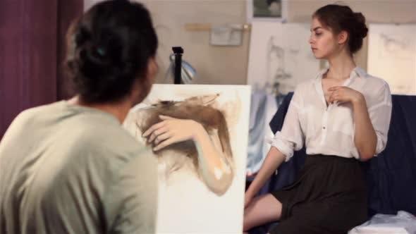 Thumbnail for Der Künstler schöpft aus der Natur