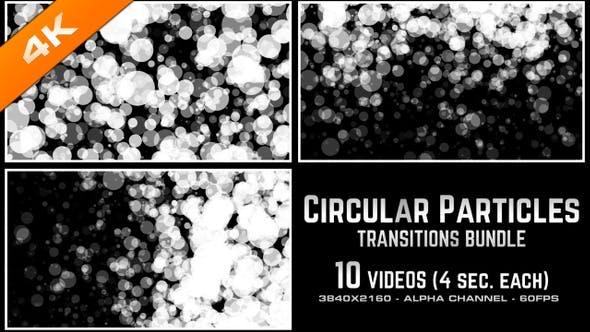 Thumbnail for Circular Particles Transitions Bundle - 4K