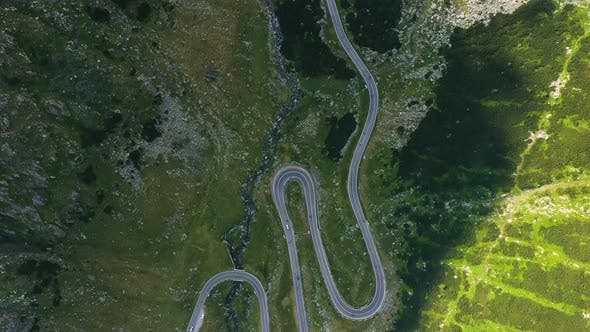 View Of Famous Romanian Road Transfagaras 8