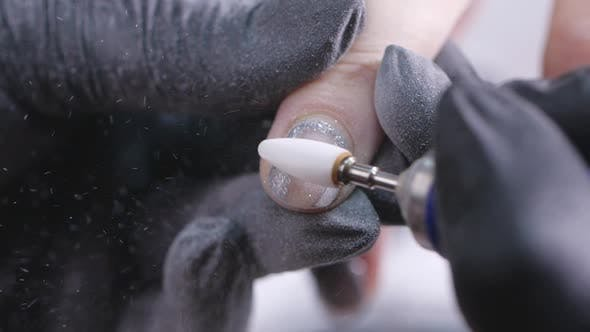 Thumbnail for Nail Polishing Before Applying Gel Shellac
