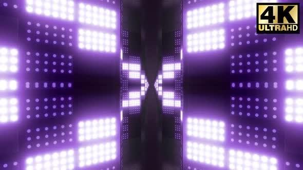 Thumbnail for 4k Light Flashing Blocks Corridor Pack