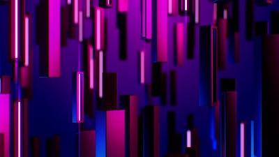 Visual Neon Lights Background