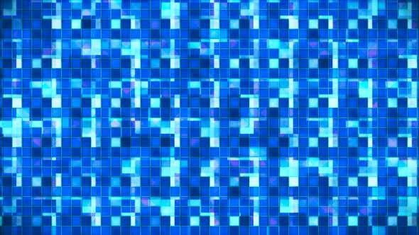 Broadcast Hi-Tech glitzernde abstrakte Muster Wall 77
