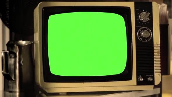 Thumbnail for Vintage TV Green Screen.