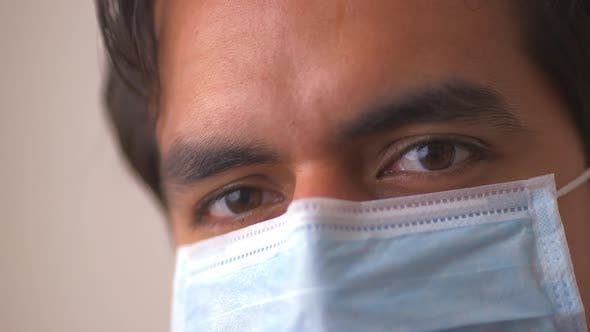 Thumbnail for Hispanic doctor in surgical mask