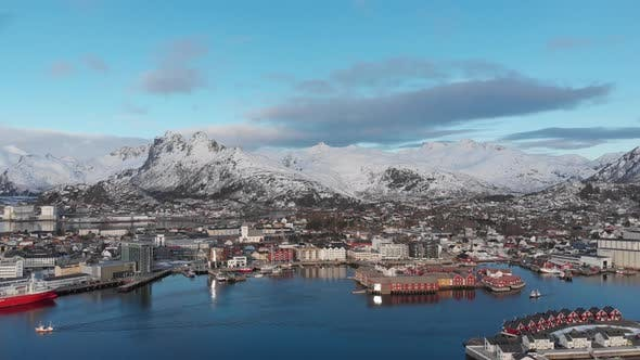 Thumbnail for Svolvaer harbour in the Lofoten island - Norway