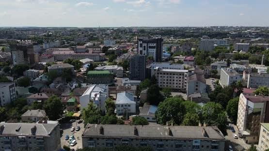 Ukraine City Rivne. Aerial Shot156