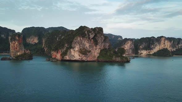 Thumbnail for Lagoon Between Rocks and Islands, Thailand