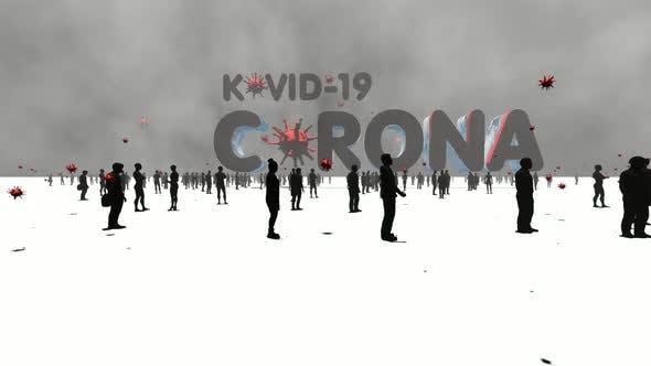 Corona Kovid-19 Titel