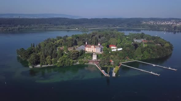 Thumbnail for Aerial View of Mainau Island, Germany