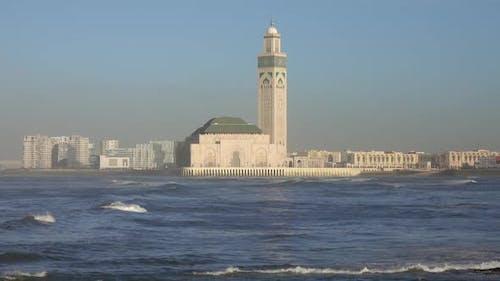 Hassan II Moschee in Casablanca in Marokko