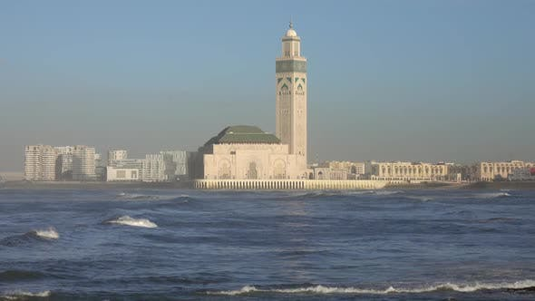 Thumbnail for Hassan II Mosque in Casablanca in Morocco