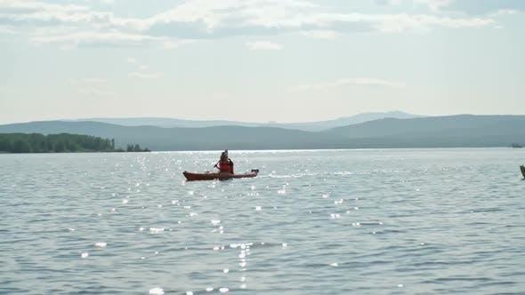 Thumbnail for Tourist Lake Kayaking