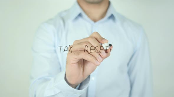 Tax Recepit, Writing On Screen