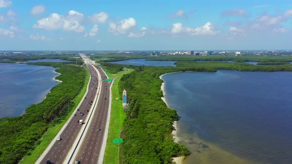 Thumbnail for Aerial Video Welcome To St Petersburg Florida Usa 4k