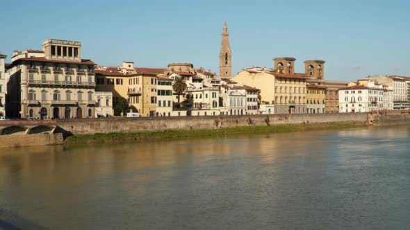 Thumbnail for Buildings on the Arno River Embankment in Florence
