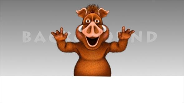 Thumbnail for Comic Boar - Cartoon Promo Show
