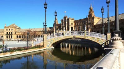 Seville, Plaza Espana
