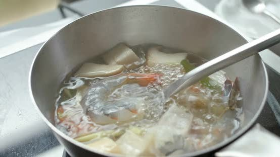 Thumbnail for Thai cuisine, Tom Yum soup