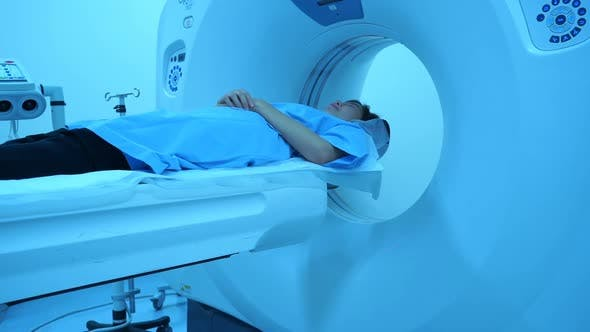 Thumbnail for Tomograph, Patient on magnetic resonance imaging, medical examination