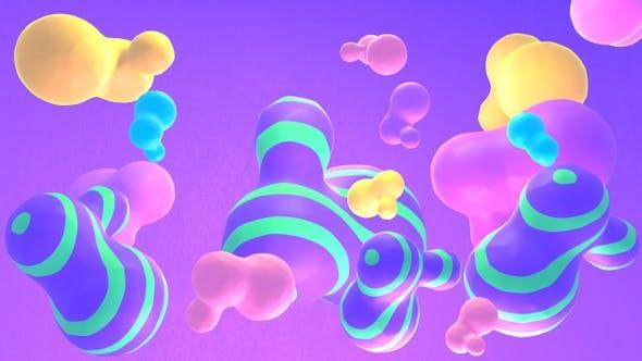 Thumbnail for Purple Stripes Metaball