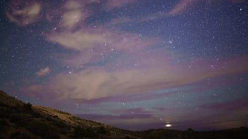 Stars Sky Night Time-Lapse