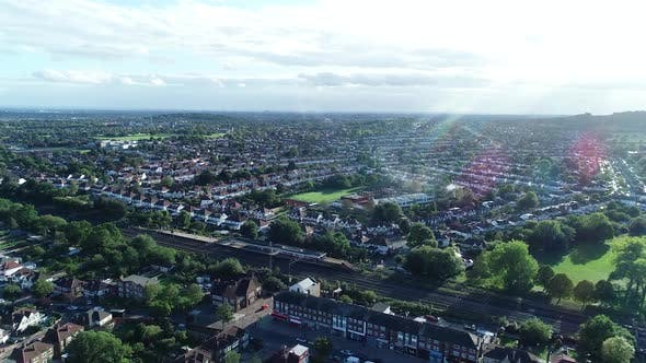 Thumbnail for Sunny Day Over Wembley Town